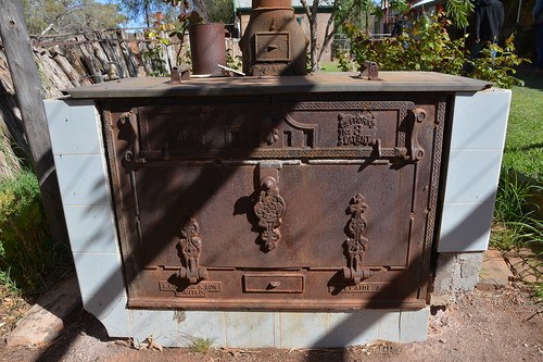 Old stove made by A Simpson & Son Limited at Adelaide / Holowiliena Station Southern Flinders Ranges South Australia