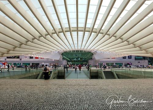 Estação do Oriente, Train station, Santiago Calatrava architecht, Lisbon, Potugal
