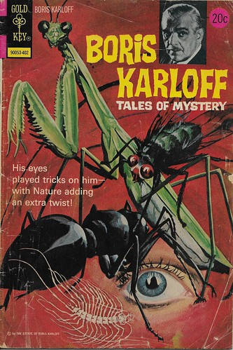 Boris Karloff Tales Of Mystery No. 52 ( Gold Key 1974 )