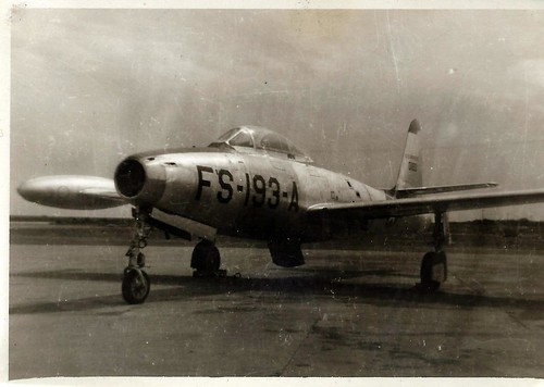 Korean War, F-84 Thunderjet, FS-193A