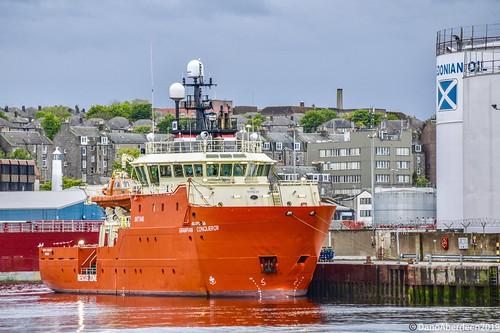 Grampian Conqueror - Aberdeen Harbour Scotland - 26th May 2019