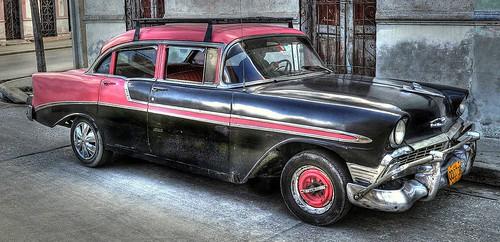 Cuban Car in Bayamo