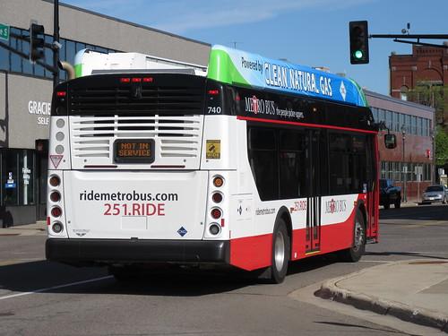 St Cloud Metro Bus 740