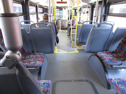 St Cloud Metro Bus 728 Interior
