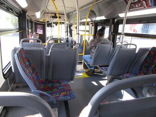 St Cloud Metro Bus 736 Interior