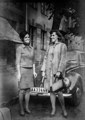 Forgotten photo: Ketty Karlsson and Eivor Pihlström