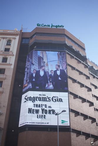 Nueva York es Ginebra en el Corte Inglés.