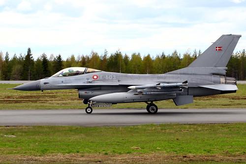 General Dynamics F-16AM Fighting Falcon (Danish Air Force) (E-603)