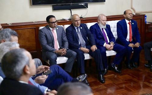 Directiva de ACIS visita al presidente Danilo Medina. Expresa satisfacción con políticas democratización acceso a viviendas