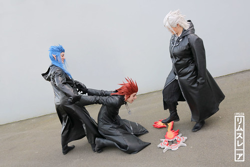 Axel, Xehanort & Saix - Kingdom Hearts