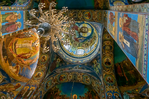 Interior of Church of the Savior on Spilled Blood