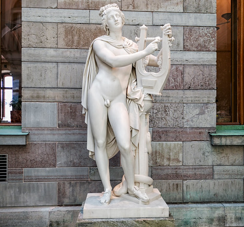 Apollo Kitharoidos, Nationalmuseum, Stockholm
