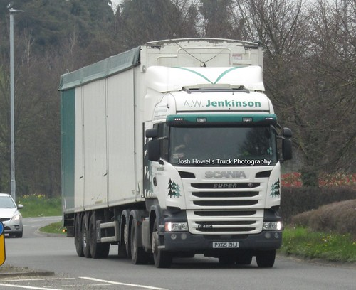A W Jenkinson PX65 ZHJ at Welshpool