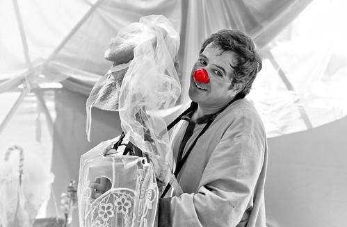 Poetic clown
