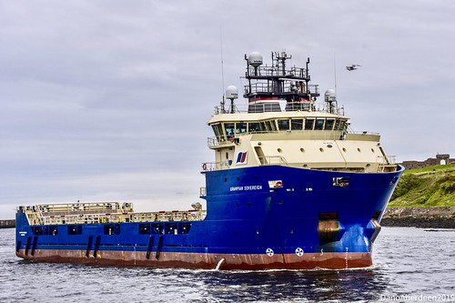 Grampian Sovereign -  Aberdeen Harbour Scotland - 30th May 2019