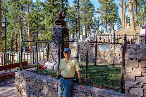 Standing Beside the Graves of Wild Bill Hickok and Calamity Jane in Deadwood's Mt. Moriah Cemetery