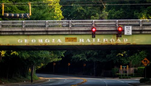 Georgia Railroad overpass