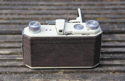 Camera of the Day - Custom, Almond and Brown Kodak Retina  Nr. 126