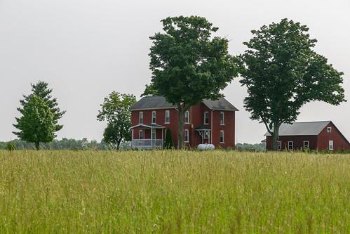 Levi Crites House — Clear Creek Township, Fairfield County, Ohio