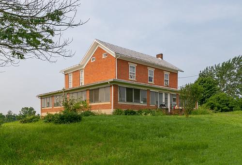 Stewart Hedges House — Clear Creek Township, Fairfield County, Ohio