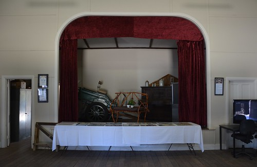 Mantung Hall stage in the Murray Mallee Lands South Australia