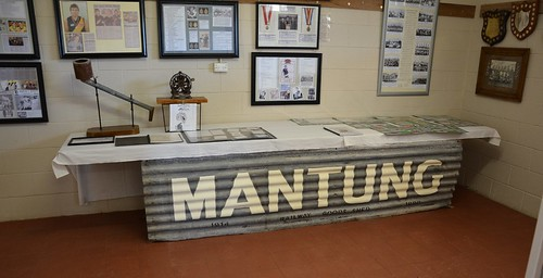 Memorabilia in the Museum room of Mantung Hall, Murray Mallee Lands South Australia