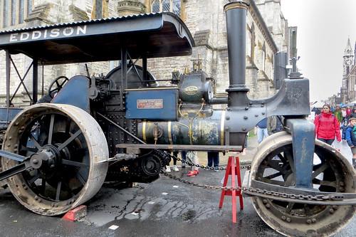 Eddison Steam Roller