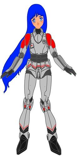 Aurora Sterling weared TASC pressure suit (Southern Cross Environmental Armor, SCEA )