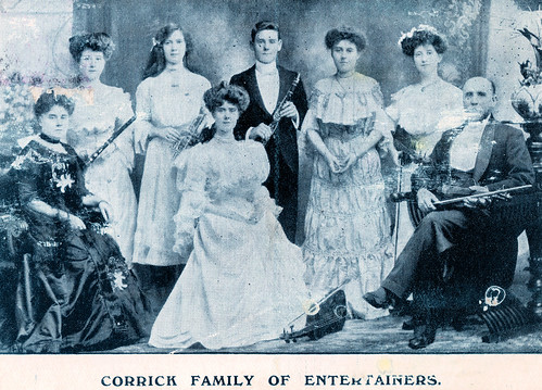 The Corrick Family of Entertainers Prior to 1906
