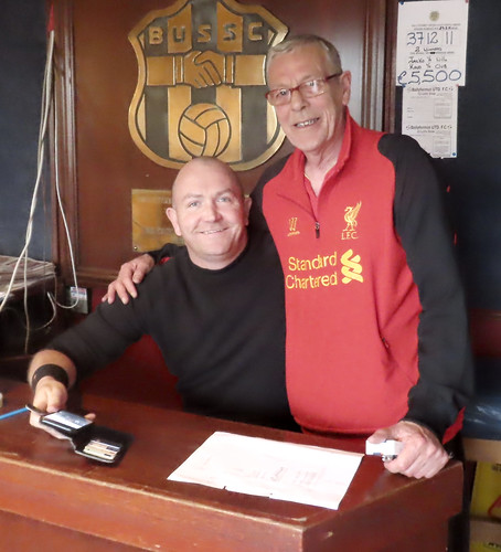 Ger Griffin and Kevin Kavanagh Members Ballyfermot United Social Club 4 June 1976 to the 2 June 2019