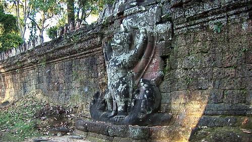 Cambodia - Temples Of Angkor -  Prasat Preah Khan - Garuda - 72