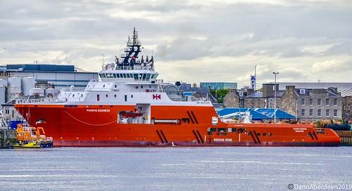 Pacific Duchess - Aberdeen Harbour Scotland - 28/05/2019