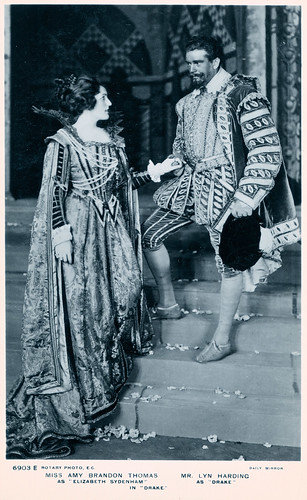 Miss Amy Brandon Thomas and Mr. Lyn Harding in 1912