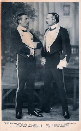 Mr. Lewis Waller and Mr. Herbert Sleath In 1908