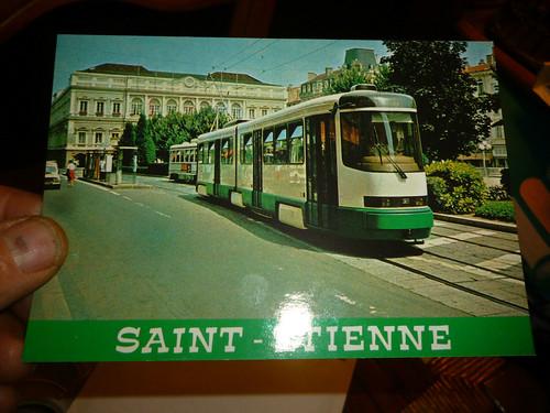 42 Tramway de St Etienne Place de l Hotel de Ville LOIRE STAS