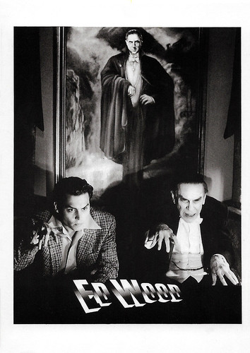 Johnny Depp and Martin Landau in Ed Wood (1993)