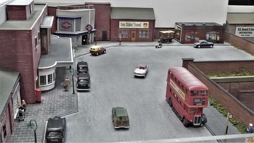 Norwood Park Station Concourse, London.