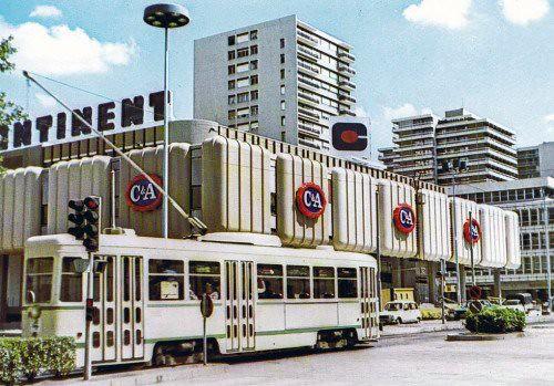 42 LOIRE SAINT-ETIENNE CENTRE2 STAS le centre commercial Continent 80's