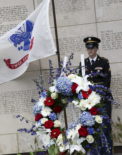 Governo's Wreath Laying ceremony honors fallen Ohio service members