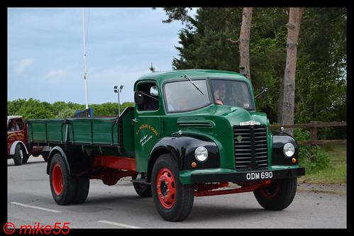 1957 Dodge Kew 'A.L. Nicklin & Sons' reg ODM 690