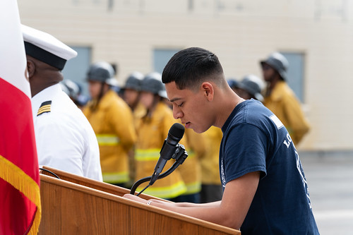 LAFD Salutes 2019 Graduates of Fire / EMS Magnet Program at Wilson High School