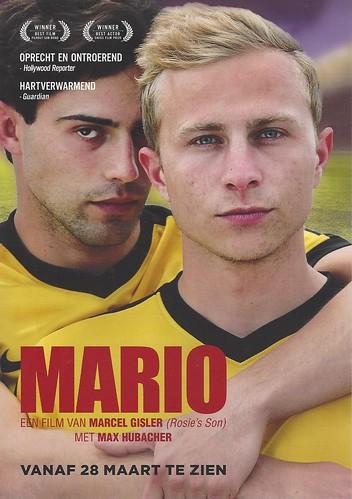 Mario een film van Marcel Gisler, Max Hubacher als Mario Lüthi en Aaron Altaras als Leon Saldo