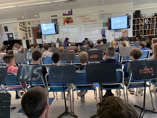 Outreach at Old Saybrook Middle School