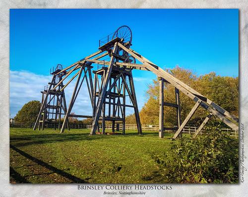 Brinsley Colliery Headstocks, Nottinghamshire