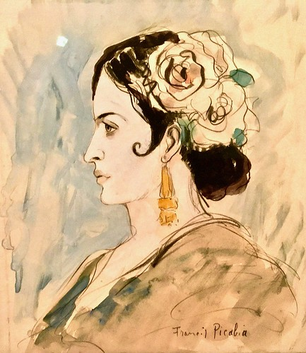 Portrait of a Spanish Woman (1930) - Francis Picabia (1879-1953)