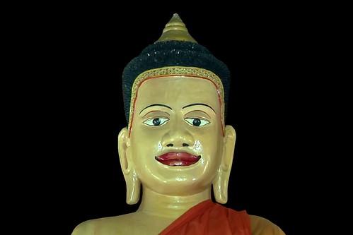 Cambodia - Temples Of Angkor - Buddha - 327d
