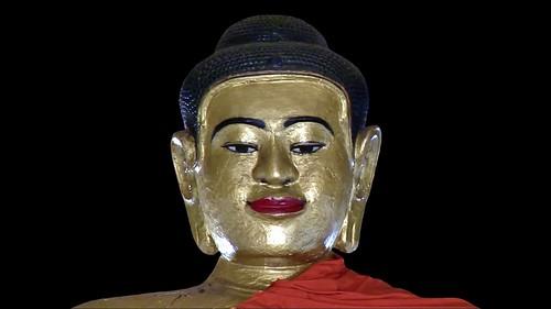 Cambodia - Temples Of Angkor - Buddha - 357d