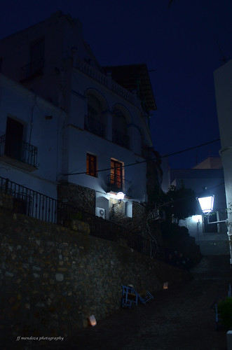 Nigth at Mojácar Pueblo/ Nocturnos colección/