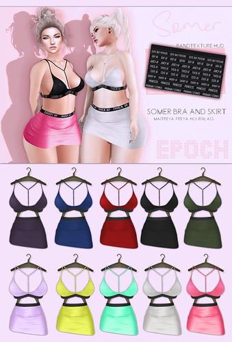 Epoch - Somer - Bra and Skirt - Display AD