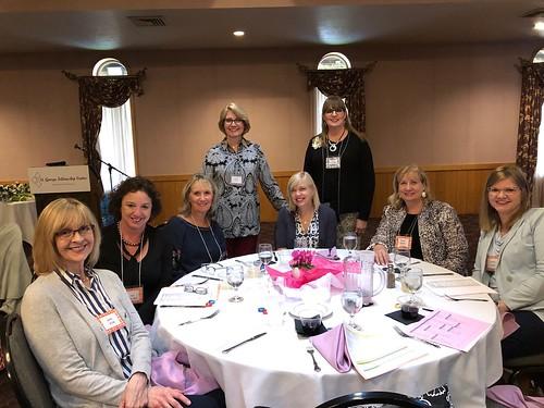 Joan Kolk, Sue Ciccolini, Susie Ahbe, Cheryl Dunphy, Lisa Teague, Tracie Baumgardner, Linda Tomon & Karen Sears